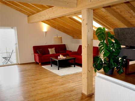 modernes Ferienhaus im Allgäu